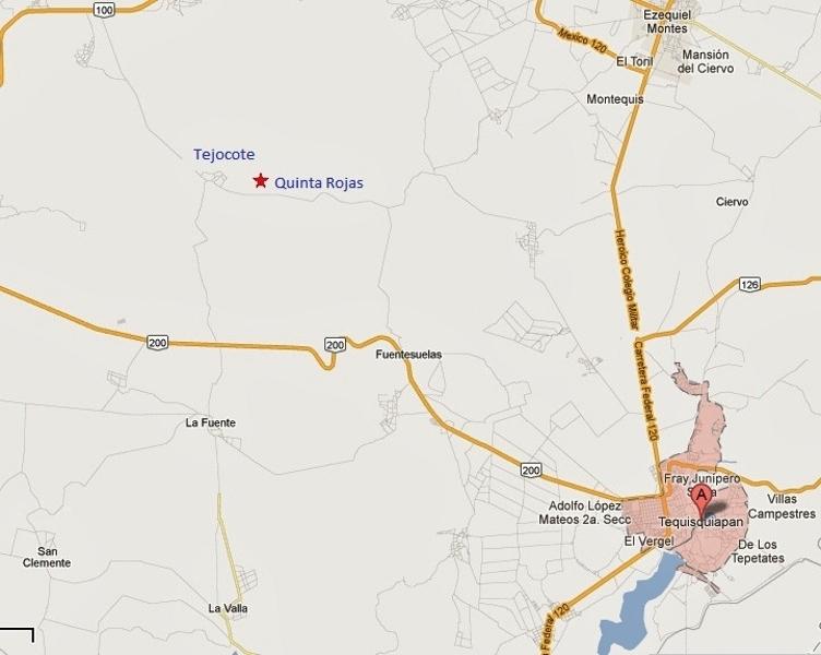Temporalmente suspendido Terreno en Venta en Quinta Rojas, El Tejocote TX-1544
