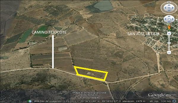 TX-2087 Hectáreas en Venta en San José la Laja camino al Tejocote