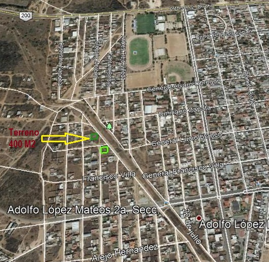 Terreno en venta en Tequisquiapan, Querétaro en Ampliación Col. Adolfo Lopez Mateos TX-2213