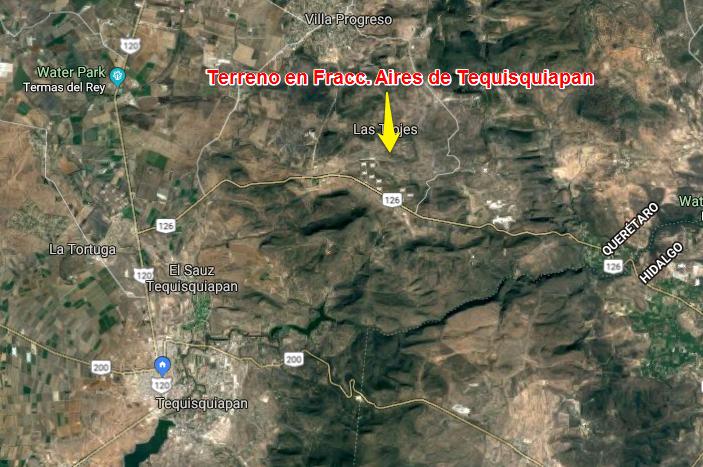 Venta de Terreno en Tequisquiapan, Qro. en Fraccionamiento Aires de Tequisquiapan (1)