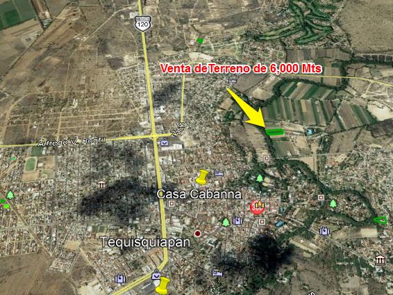 Venta en Terreno en Tequisquiapan, Querétaro en Barrio de la Magdalena Tx-2287