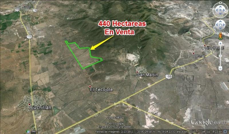 TX-1857 Hectareas en Venta, Rancho San Isidro Bernal