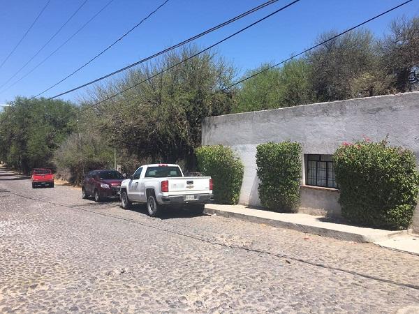 Terreno en Venta en esquina en Barrio de San Juan en Tequisquiapan, Qro.