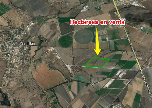 Hectáreas agrícolas en Venta en Tequisquiaspan Querétaro